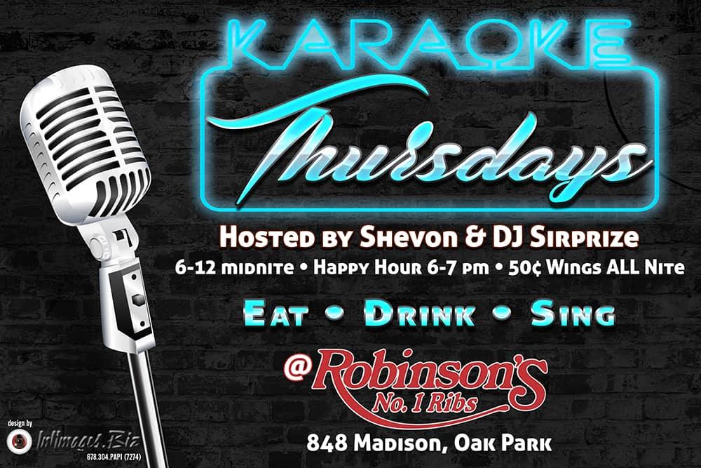 Karaoke-Thursday